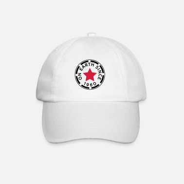 Since on earth since 1960 (fr) - Casquette baseball
