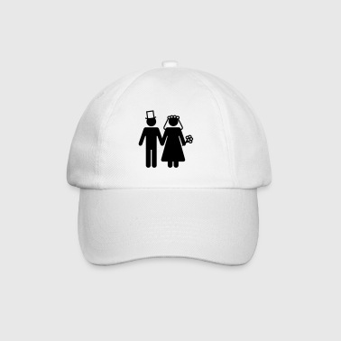 Bride and Groom - Add Your Own Text - Baseball Cap