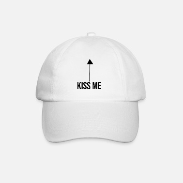 Wedding Couple kiss me couple in love - Baseball Cap