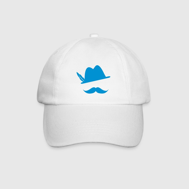 Funny Moustache (Hat) Oktoberfest Smiley - Outfit - Cappello con visiera