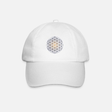 Geometry Sacred geometry Flower of Life Pattern of Creation - Baseball Cap
