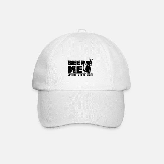 Start Of Spring Caps & Hats - Spring break - Baseball Cap white/white