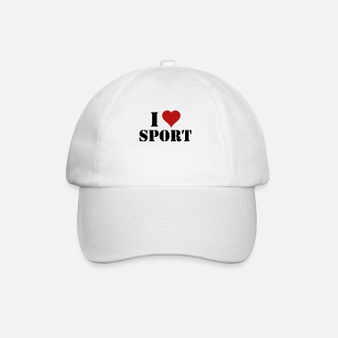 Sport I love sports - Baseball Cap