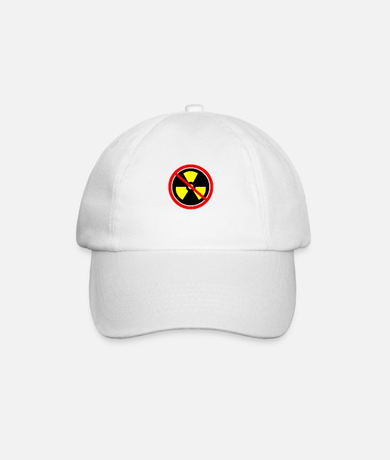 Chernobyl Caps & Hats - Anti nuclear power Nuclear power stations Nuclear energy Atomic energy - Baseball Cap white/white