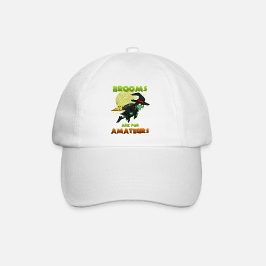 Witch Witch on witches broom - Baseball Cap