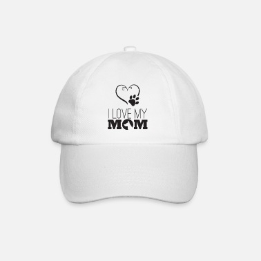 I love my mom - Baseball Cap