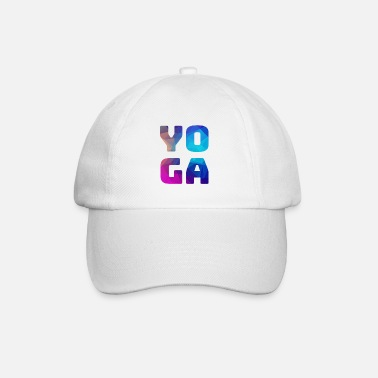 Color Yoga colorful colorful colored - Baseball Cap