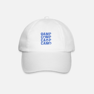 To Camp Camping and camping - Baseball Cap