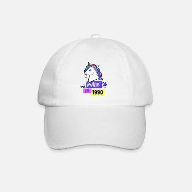 Made in 1990 Year of construction 1990 year of birth - Baseball Cap