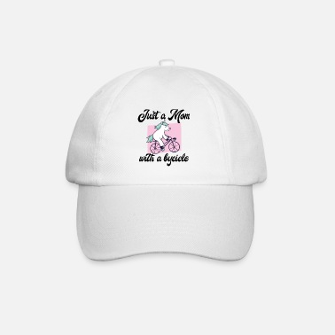 Car Lover Just a mom with a bicycle - Baseball Cap