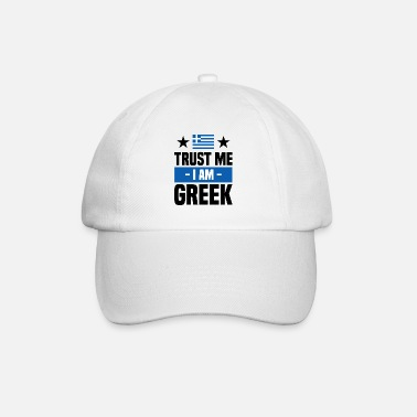 Crete Funny Greek saying Greece gift - Baseball Cap