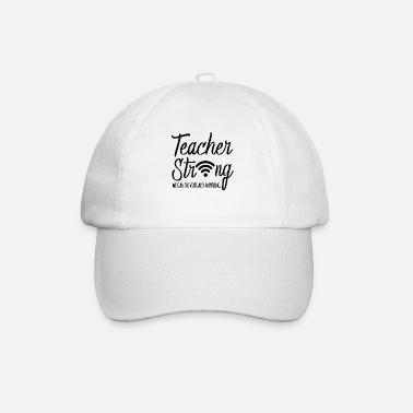 Back To School Back To School 2020 Virtual Teachers Stay Strong F - Baseball Cap