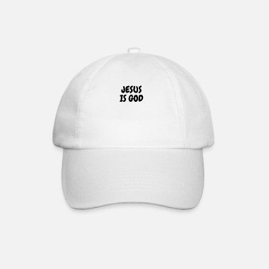 Jezus Jezus is God - Christelijke citaten - Baseball cap