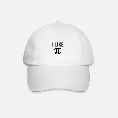 Clothes I like pi - Baseball Cap