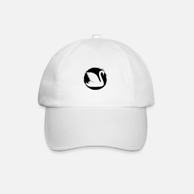 Flock Of Birds Swan - Swan / Zoo - animal lover / nature conservation - Baseball Cap