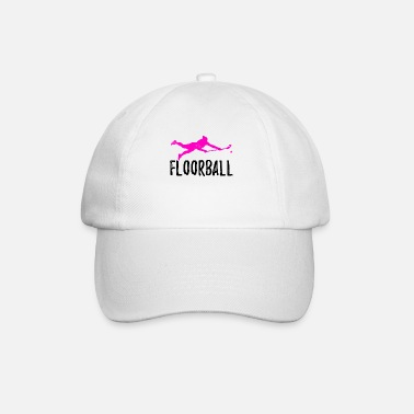 Hockey floorball - Cappello con visiera