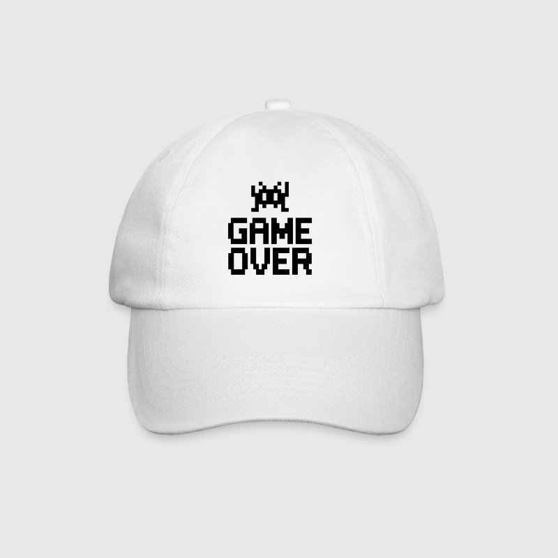 game over with sprite - Baseball Cap