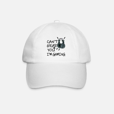 Video G Can't hear you I'm Gaming - Funny Video Gamer Gift - Baseball Cap