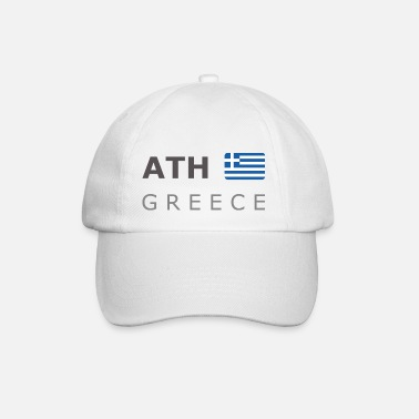 Greece ATH GREECE dark-lettered 400 dpi - Baseball Cap