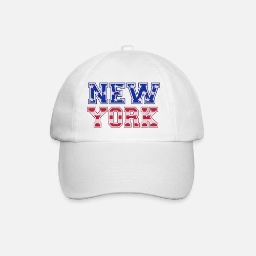 New York drapeau américain Gorra béisbol  7f4abf87d8b