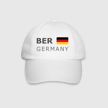 BER GERMANY GF dark-lettered 400 dpi - Gorra béisbol