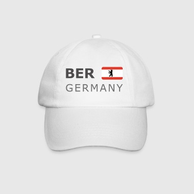 BER GERMANY BF dark-lettered 400 dpi - Gorra béisbol