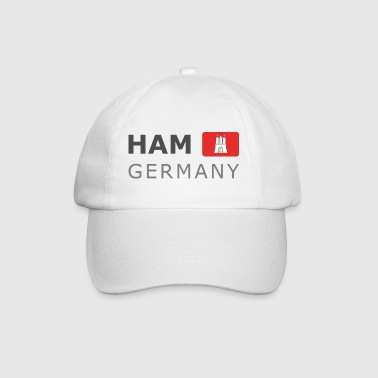 HAM GERMANY HHF dark-lettered 400 dpi - Baseballcap