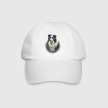 Border Collie 001 - Baseball Cap