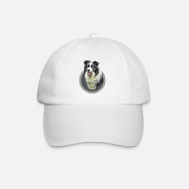 Border Border Collie 001 - Baseball Cap