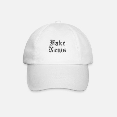 Fake Fake News Vintage - Baseball keps