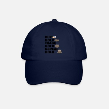 Hold'em Buy, Hold, Hold, Hold Bitcoin - Baseball Cap