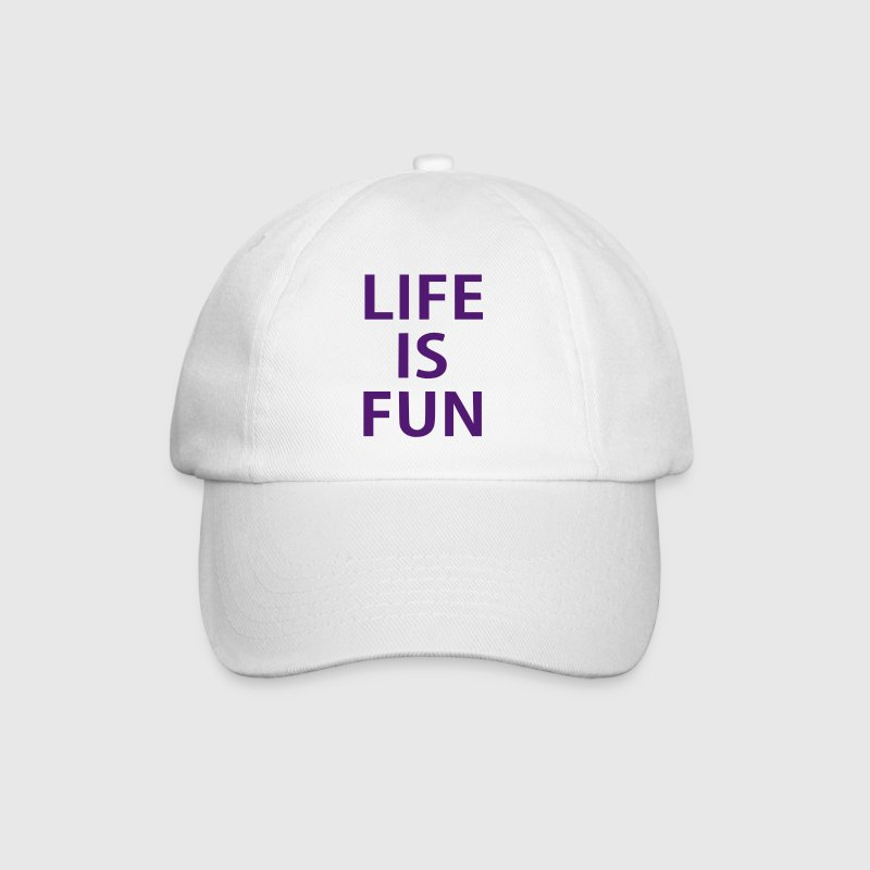 life is fun - Gorra béisbol