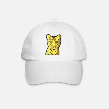 Tierkind Tiger als Tierkind - Baseball Cap