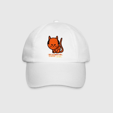 grumpy cat - i don't like morning people - Baseballcap