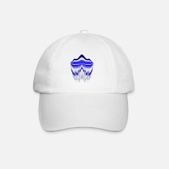 Gift Idea Caps & Hats - Blue Lagoon - Baseball Cap white/white