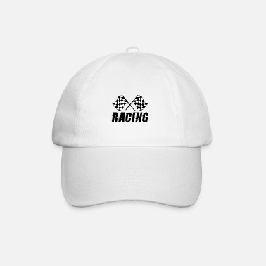 Race Flag - Racing - Race cadeau idee - Baseball cap