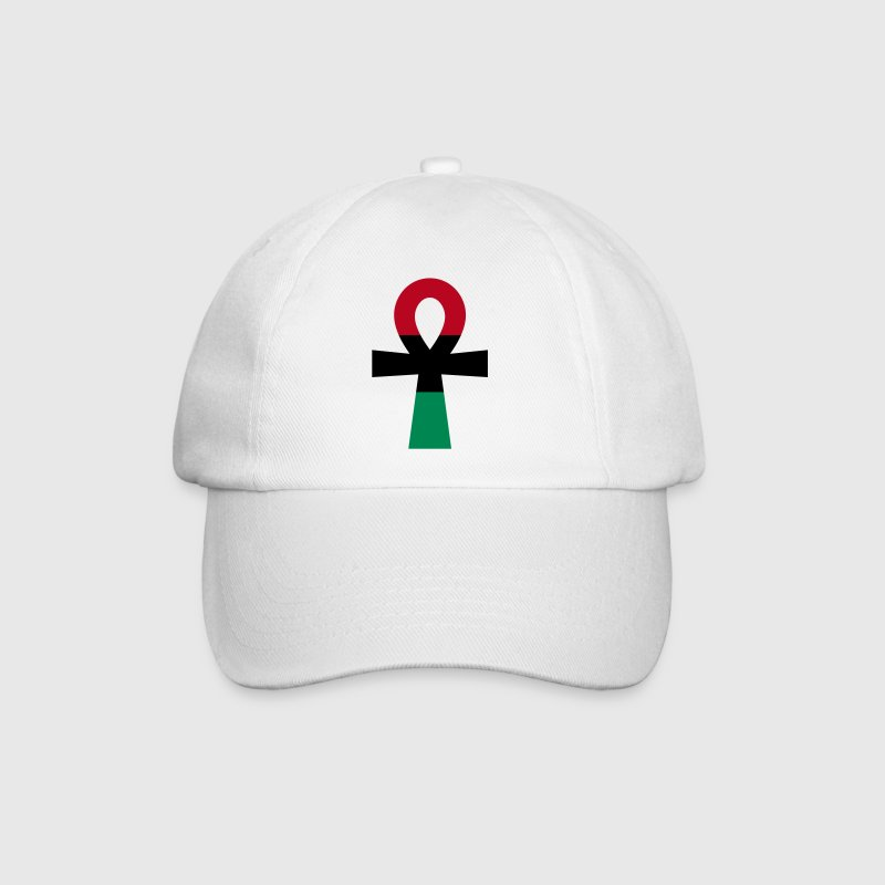 Red, Black & Green Ankh - Baseball Cap