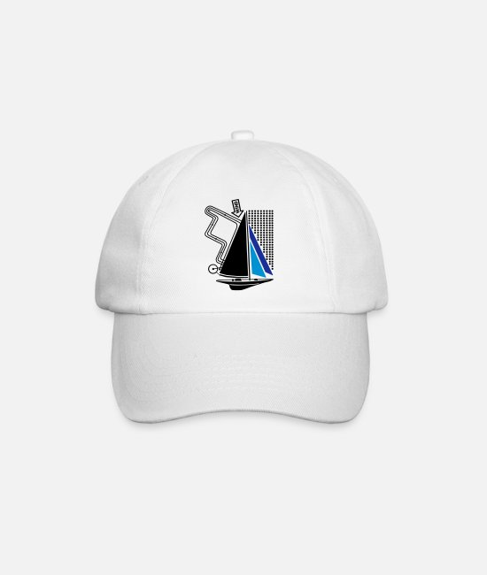Water Caps & Hats - technical sailing yacht no.1 the standard - Baseball Cap white/white
