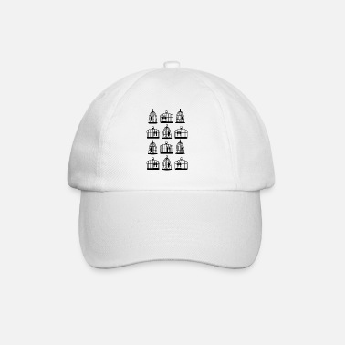 Cage Bird cages - Baseball Cap