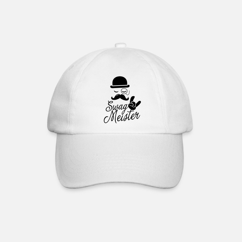2dbb927ef83 Comic Caps   Hats - Funny Swag Meister with fashionable moustache like a  cool sir t