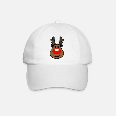 Rudolph, the red nosed Reindeer Christmas design - Baseball Cap