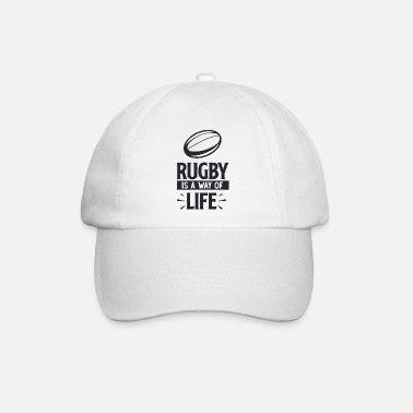 Golfed Rugby is a way of - Baseball Cap
