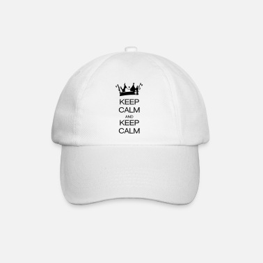 Keep Calm keep calm and keep calm - Baseball Cap
