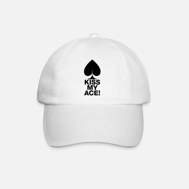 Póker tarjetas juego camisa camiseta - Gorra béisbol c22d8094dfe