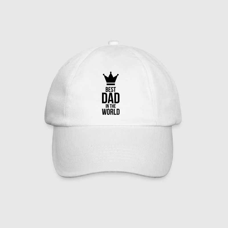 Best Dad in the World ! - Baseball Cap