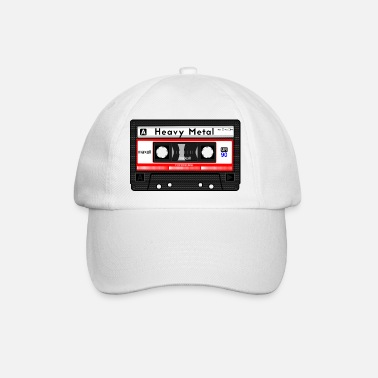 Metal HEAVY METAL CASSETTE - Baseball Cap
