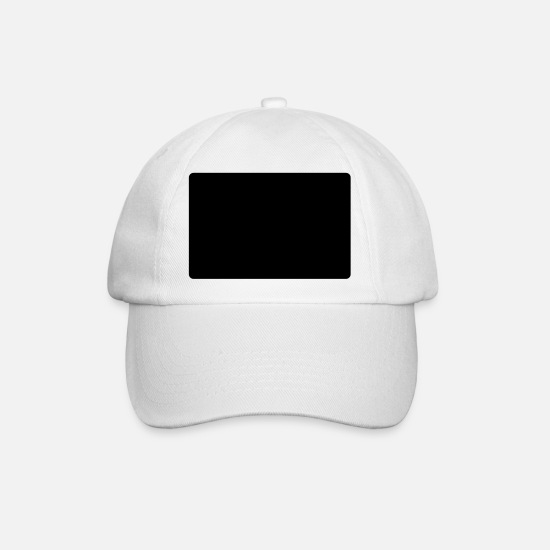 Hello Caps & Hats - hello my name is ross - Baseball Cap white/white