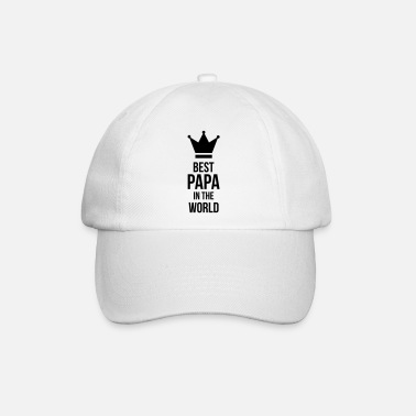Papa Best Papa in the world ! - Baseball Cap