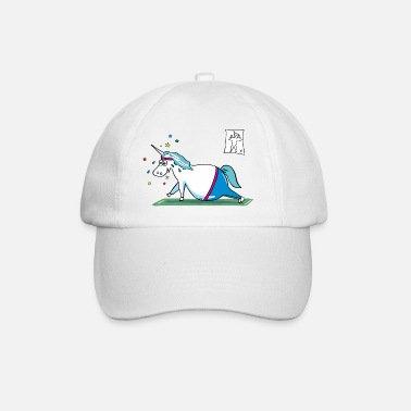 Unicornio Fat Unicorn doing sports - Gorra béisbol