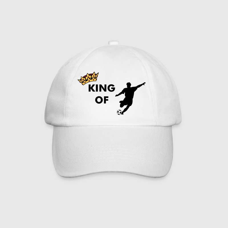 Crown / King of ... (add your Text) - Baseball Cap